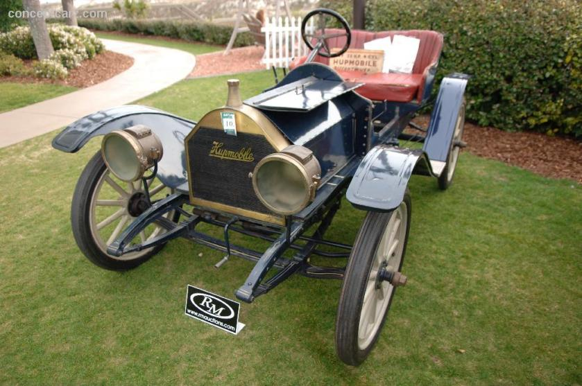 1909 Hupmobile 20HP 4Cyl DV-06 ARM 07