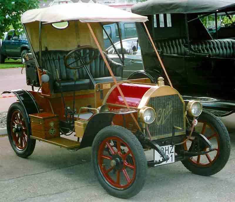 1910 Opel 4-8 PS Doktorwagen
