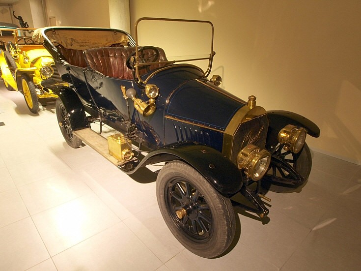 1910 Opel 6-14-HP Touring