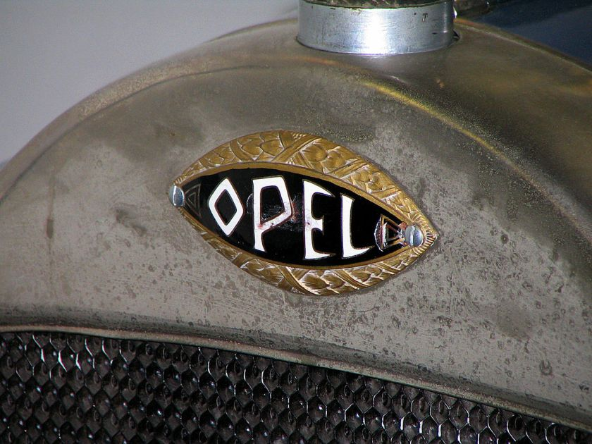 1910 the blue eye Opel 4 20 1929-1931