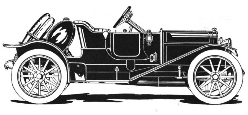 1911 abbott-detroit 4-door roasdter