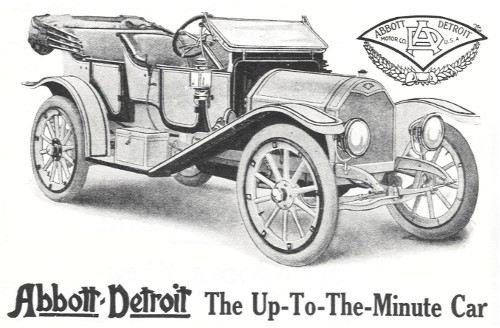 1911 Abbott-Detroit four Passenger Touring Car