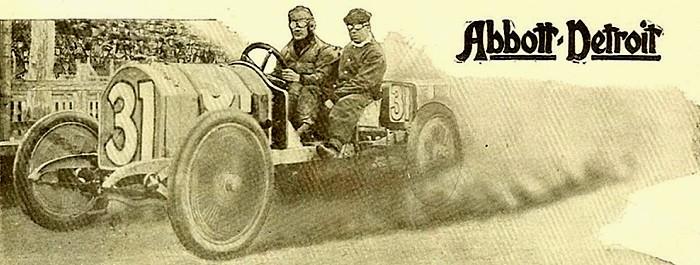 1911 Abbott-Detroit - Racer