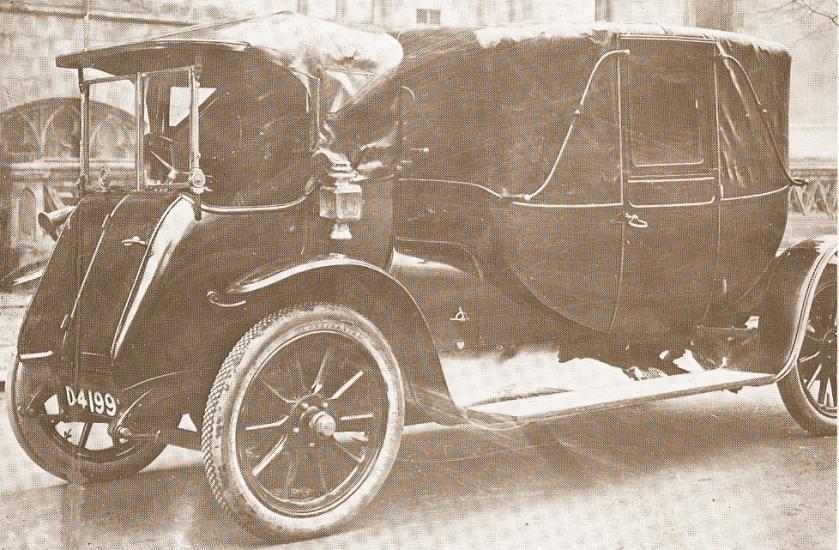1912 Aberdonia Landau