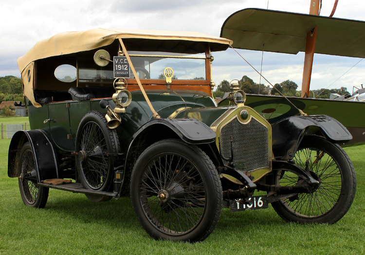 1912 Crossley Model 15 from Shuttleworth Collection