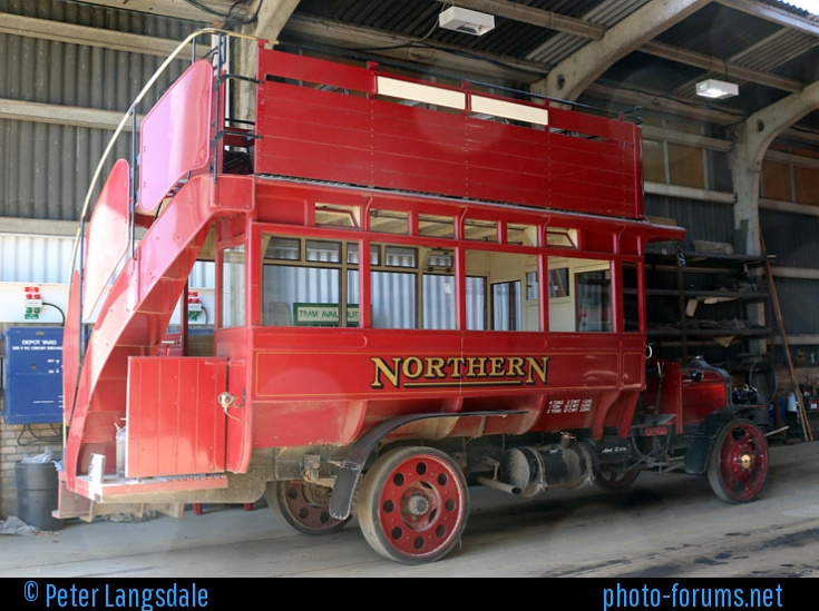 1913 REPLICA DAIMLER CC-297 BUS J2503
