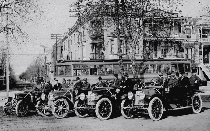 1913, the Abbott Detroit Car Company manufactured one of the most luxurious cars
