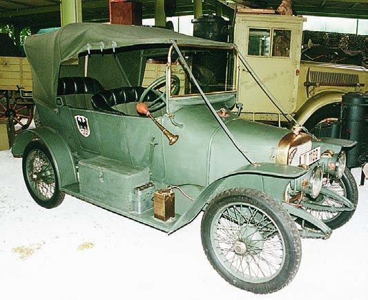 1914 Adler 9-24PS