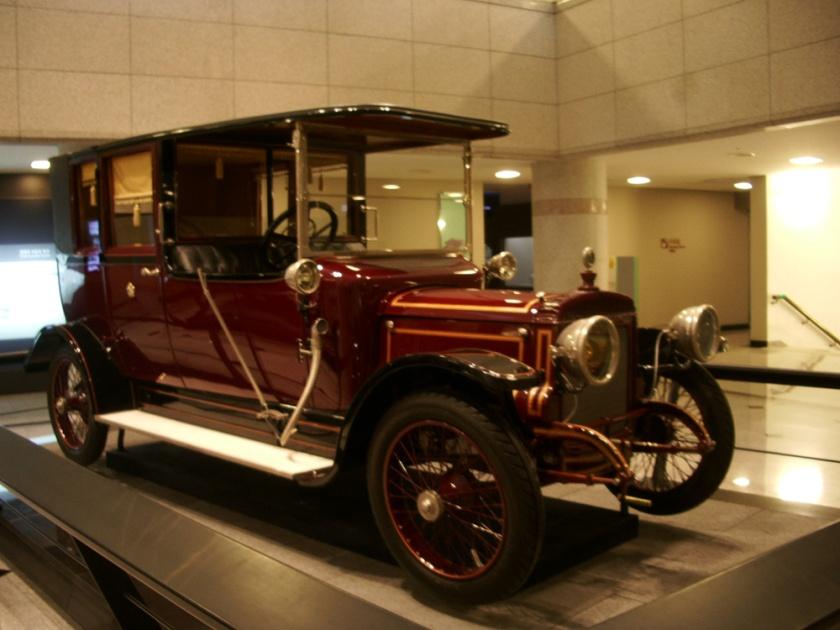 1914 Daimler (for_Empress_of_Korea)