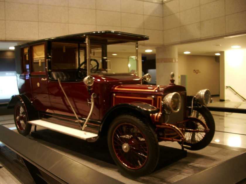 1914 Daimler (for_Empress_of_Korea)