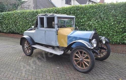 1914 Hupmobile Model H 15-18hp with Coachwork by Oakley Ltd.