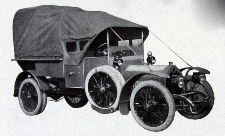 1915 Crossley Vital