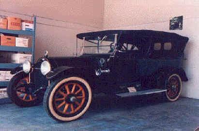 1917 Abbott-Detroit Touring Abbott-Detroit Motor Car Co. Detroit, Michigan 1909-1917