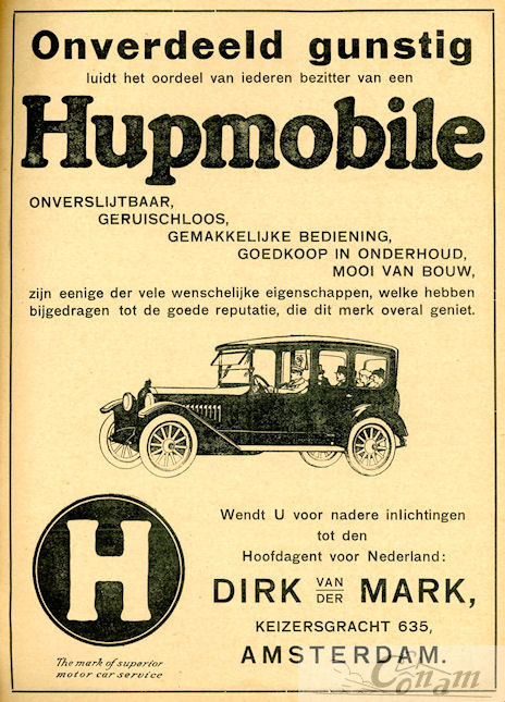 1917 hupmobile dirk-van-der-mark