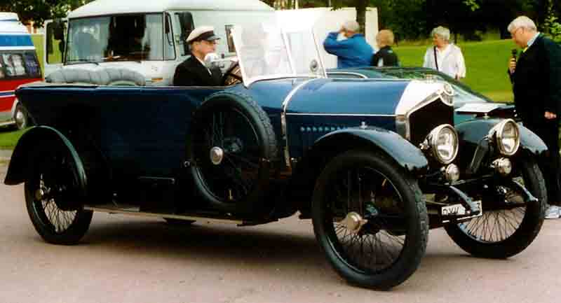 1920 Crossley 9T 25-30 HP Phaeton