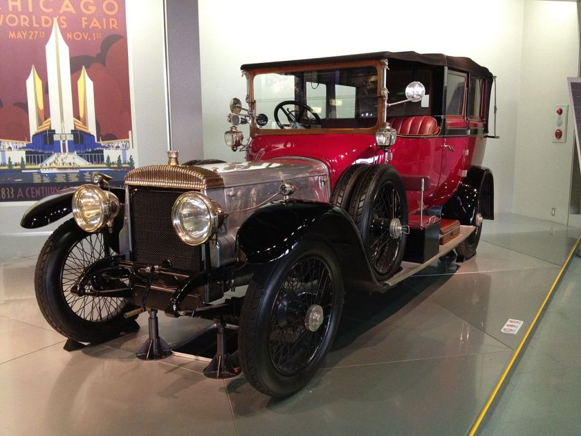 1920 Daimler Type 45 all-weatherr tourer