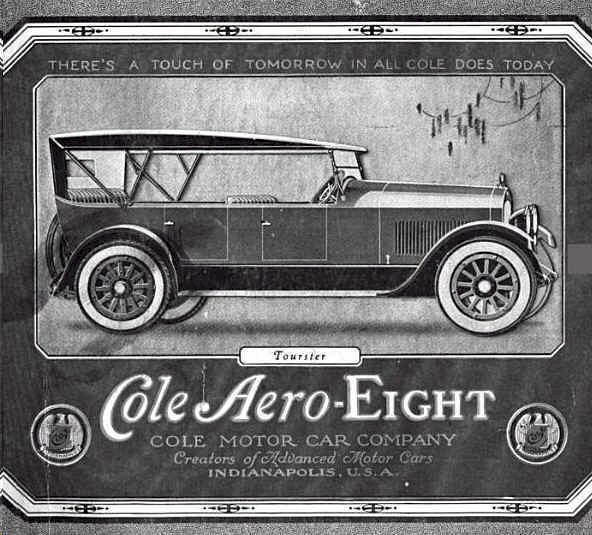 1921 Cole Automobile
