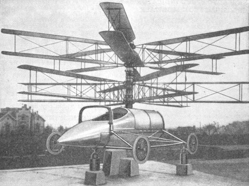 1921 Flying Motor Car
