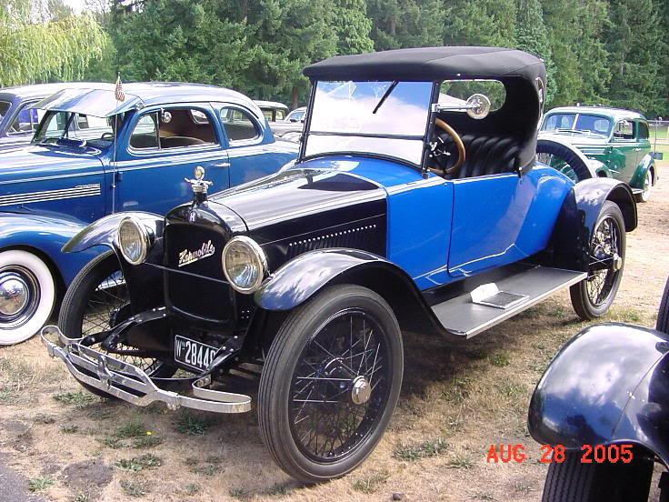 1922 Hupmobile