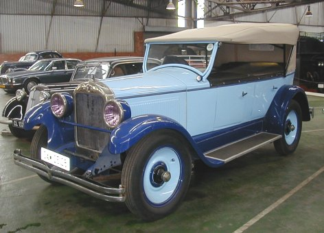 1925 Hupmobile Tourer