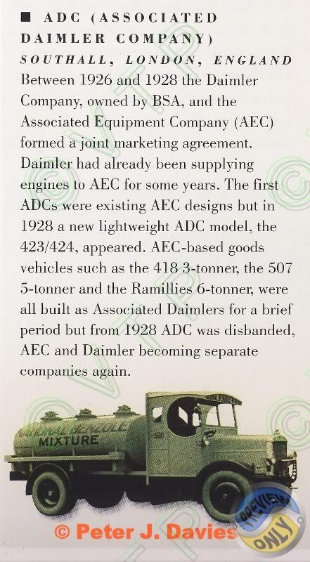1926-28 Daimler ADC Associated Daimler Compagny