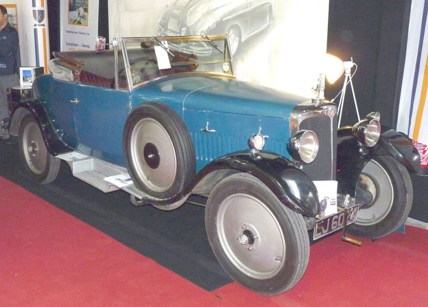 1926 AC 12 Royal drophead coupé AC Royal Anzani KL