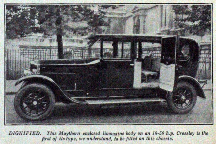 1926 Crossley Auto