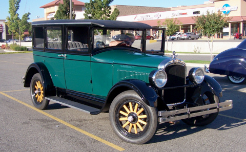 1926 Hupmobile Four Door Sedan