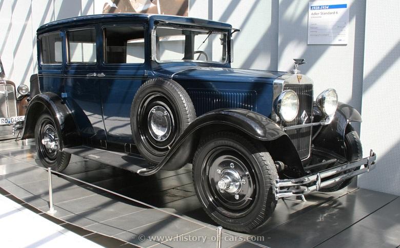1927 Adler standard-6-2