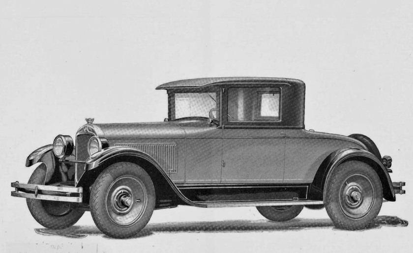 1927 Hupmobile Eight Coupé, (8 Zyl., 4402 cm3, 67 PS)