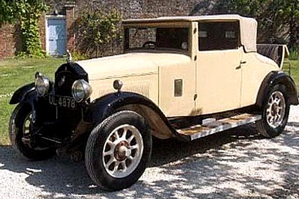 1927 Willys Overland Crossley Drophead