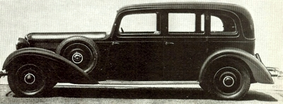 1928 Adler Diplomat Favorit