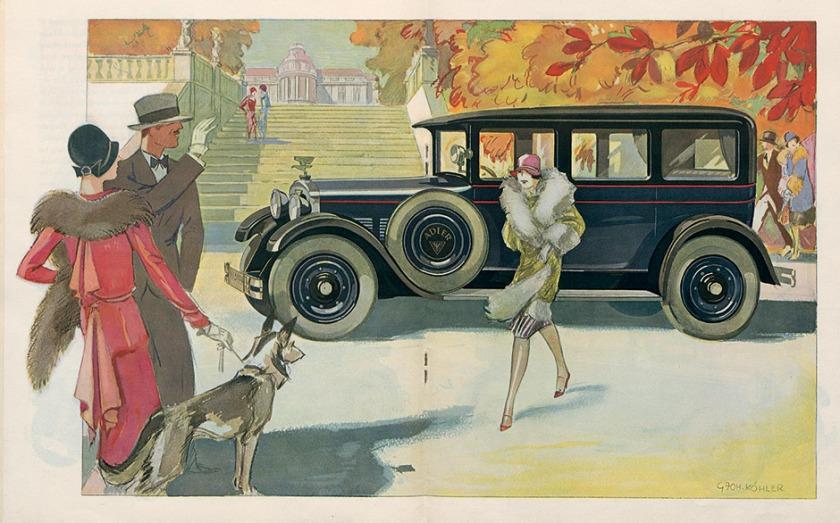 1928 Adler Standard 6 ad