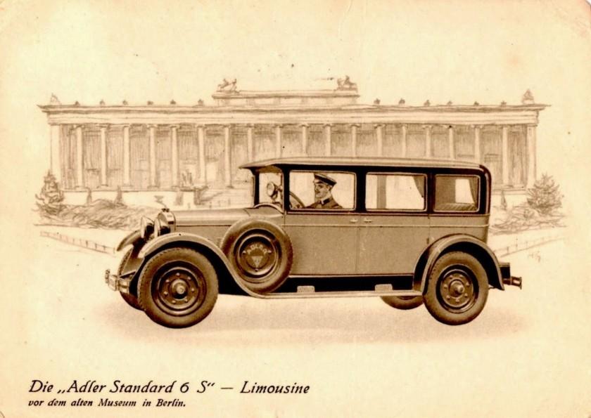 1928 Adler Standard-6-S-Limousine