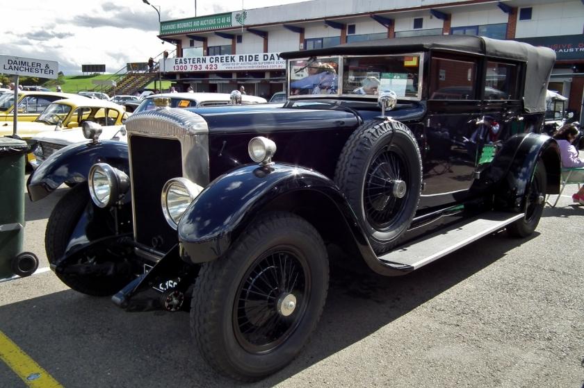1928 Daimler 35-120 landaulette
