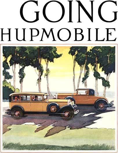 1928 hupmobile ad id2704