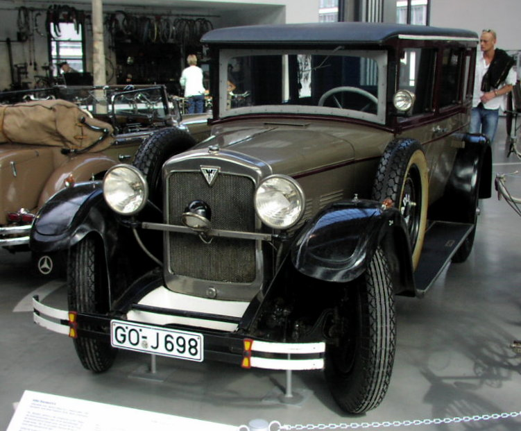 1928 MHV Adler Standard 6S the model Clärenore Stinnes drove on her journey around the world
