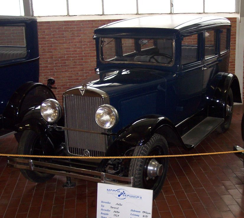 1929 Adler Favorit blue vl