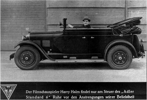 1929 Adler standard 6 AMBI6