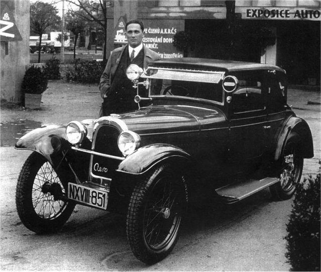 1929 Aero 500 - 10 HP, Československo (1929-1932) a