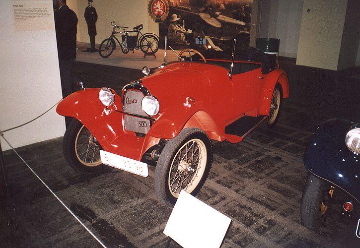 1929 Aero 500 - 10 HP, Československo (1929-1932) a1