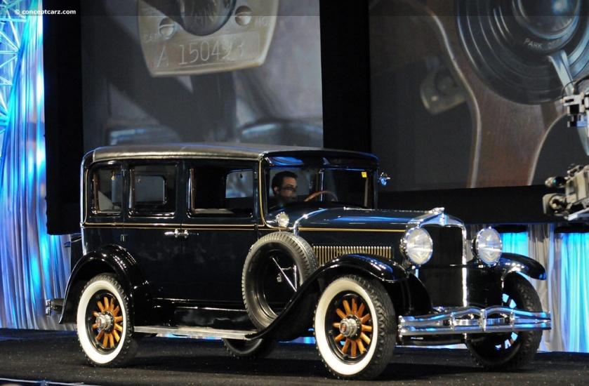 1929 Hupmobile Series A (Century Six, Century 6)
