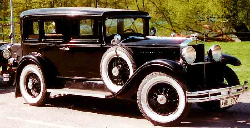 1929 Hupmobile Series M De Luxe Century 4-D Sedan