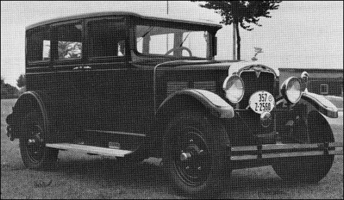 1930 Adler favorit sedan
