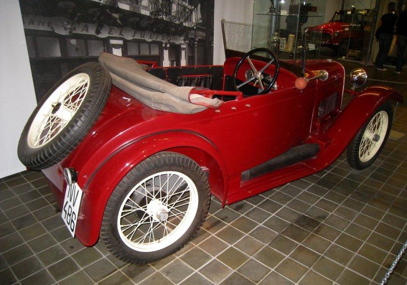 1930 Aero 500 - 10 HP, Československo (1929-2932) b