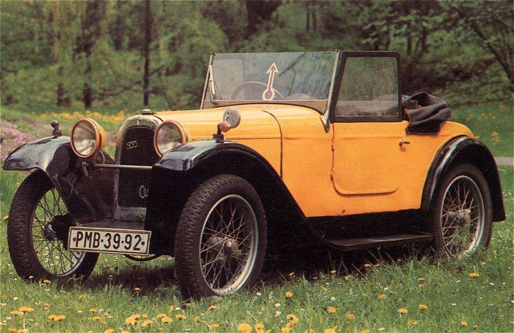 1930 Aero 500 - 10 HP, Československo 1930 (1929-1932) a