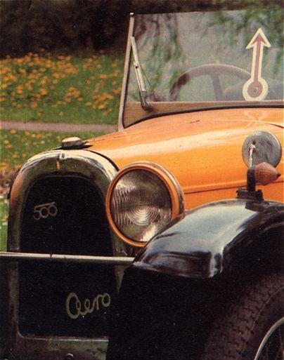 1930 Aero 500 - 10 HP, Československo 1930 (1929-1932) b