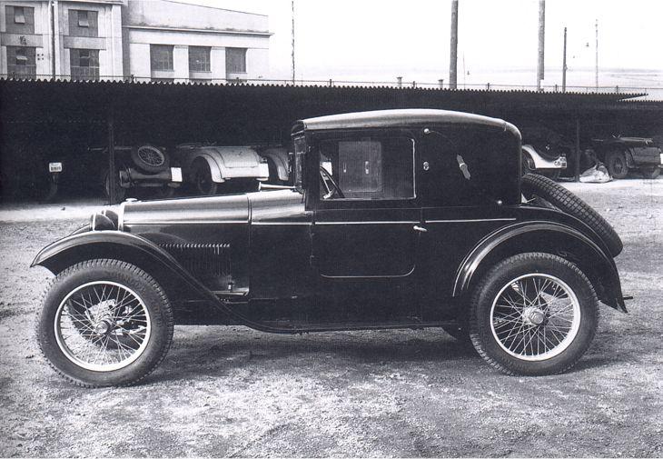 1930 Aero 500 Faux-cabriolet, Československo 1930 (1929-1932)