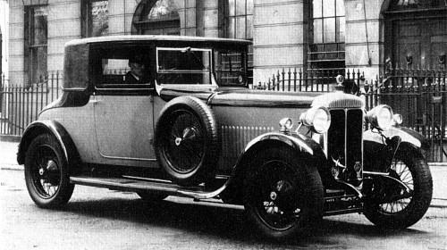 1930 Daimler Double Six Coupe