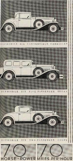 1930 hupmobile ad